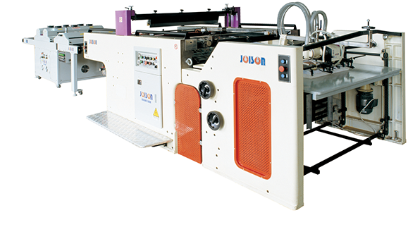 Automatic cylinder screen printing machine (recyprocation)