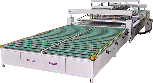Architectural glass screen printing machine