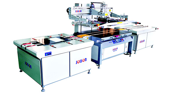 Color glittering appliance glass screen printing machine